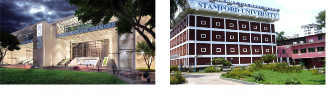Stamford University Campus
